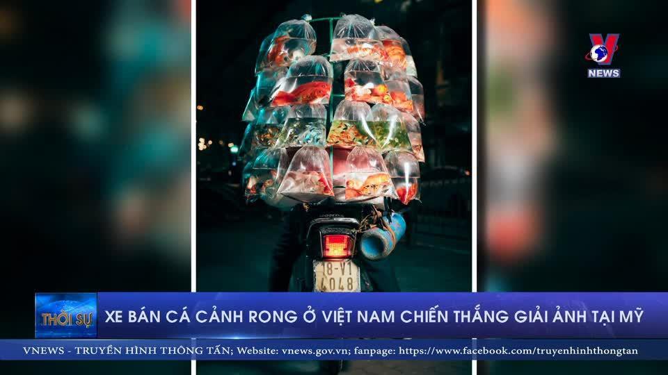 Xe bán cá cảnh rong ở Việt Nam chiến thắng cuộc thi ảnh tại Mỹ
